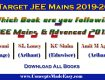 Which book are you following for JEE Mains and Advanced Exam 2019 ??