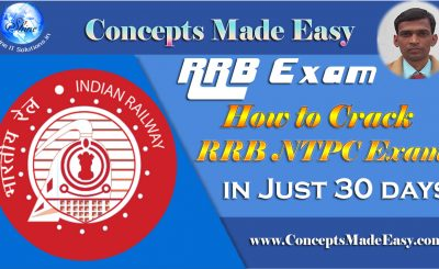 How to crack a Railways NTPC (Station-Master) Examination in just 30 days ??