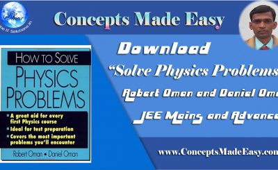 Download Most Important Book Solve Physics Problems by Robert Oman and Daniel Oman in PDF