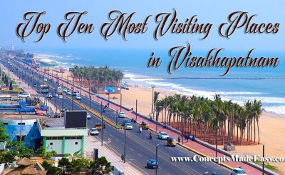 Top 10 Most Visiting Places in Visakhapatnam