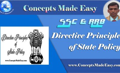 Directive Principles of State Policy - Important for various Competitive Examinations