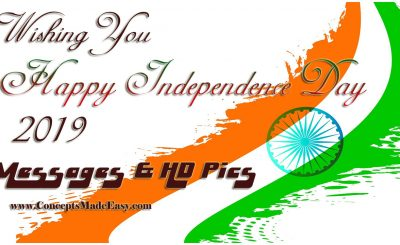 Send Messages and HD Wallpaper Pics of 73rd Independence Day of India – 15th August 2019