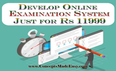 Develop Online Examination System Website just for Rs 11999