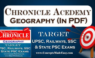 Download Geography - Chronicle IAS Academy Study Material for UPSC Railways SSC and State PSC Examination in PDF Free of Cost