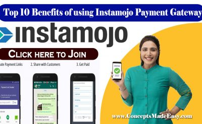 Top 10 Benefits of using Instamojo Payment Gateway to Collect Payment from Client | No Setup Charges and No Annual Charges