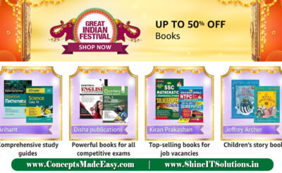Amazon Great Indian Festival - Get Up to 50% off on Competitive Books and Examination Guide Books | 20000+ deals and Combo offers on Amazon Great Indian Festival
