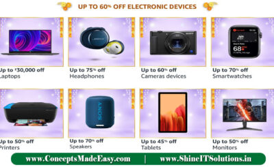 Amazon Great Indian Festival - Get up to 60% off on Electronics Devices and Accessories | 20000+ deals and Combo offers on Amazon Great Indian Festival