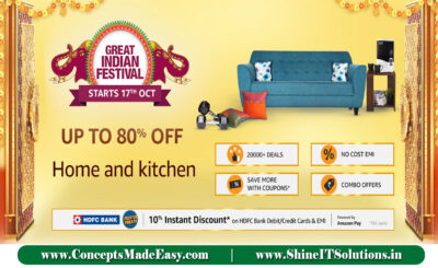 Amazon Great Indian Festival - Get up to 80% off on Homes & kitchen Appliances | 20000+ deals and Combo offers on Amazon Great Indian Festival