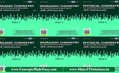 Download All Cengage Chemistry 6 Books Set Latest Edition by K.S. Verma Specially for JEE Mains and Advanced Examination 2021 Free of Cost from ConceptsMadeEasy.com