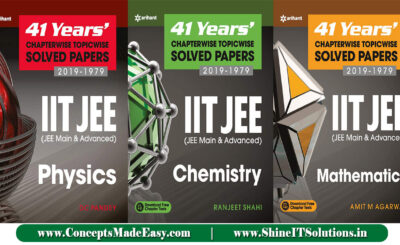 Download Last 41 Years Chapterwise Solved Papers (Physics + Chemistry + Mathematics) Latest Edition by Arihant Publication Specially for JEE Mains and Advanced Examination 2021 Free of Cost from ConceptsMadeEasy.com
