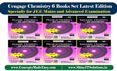 Review of Cengage Chemistry Books Set Latest Edition containing 6 books specially for JEE Mains and Advanced Examination 2021