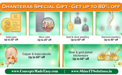 Dhanteras Special Gift - Get up to 80% off on Dhanteras Special Gift for your Family | 20000+ deals and Combo offers on Amazon Great Indian Festival Dhanteras Special