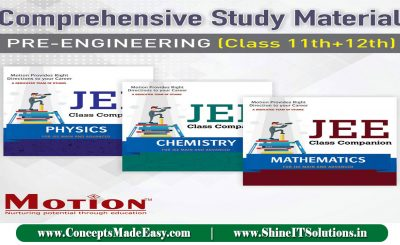 Download Motion JEE Classes Study Material (Physics + Chemistry + Mathematics) Latest Edition Specially for JEE Mains and Advanced Examination 2021 Free of Cost from ConceptsMadeEasy.com
